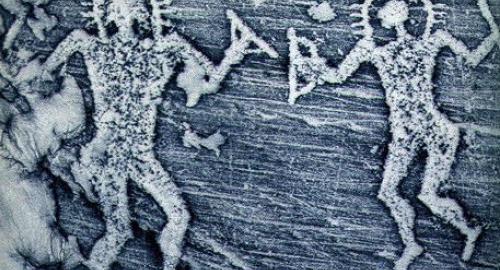 UFO e alieni: extratterrestri rappresentati sulle pitture rupestri di 10mila anni fa